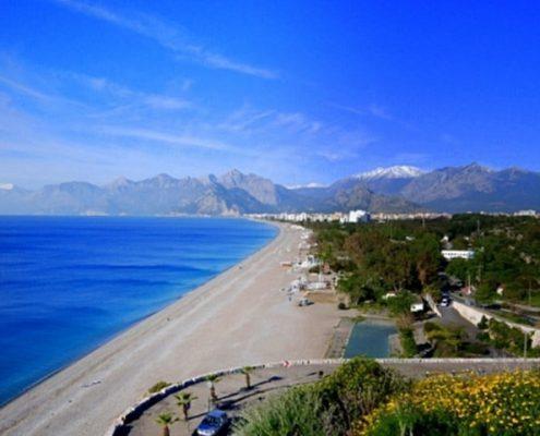 antalya, konyaaltı sahili, antalya sahil, antalya kumsal, antalya toros seyahat