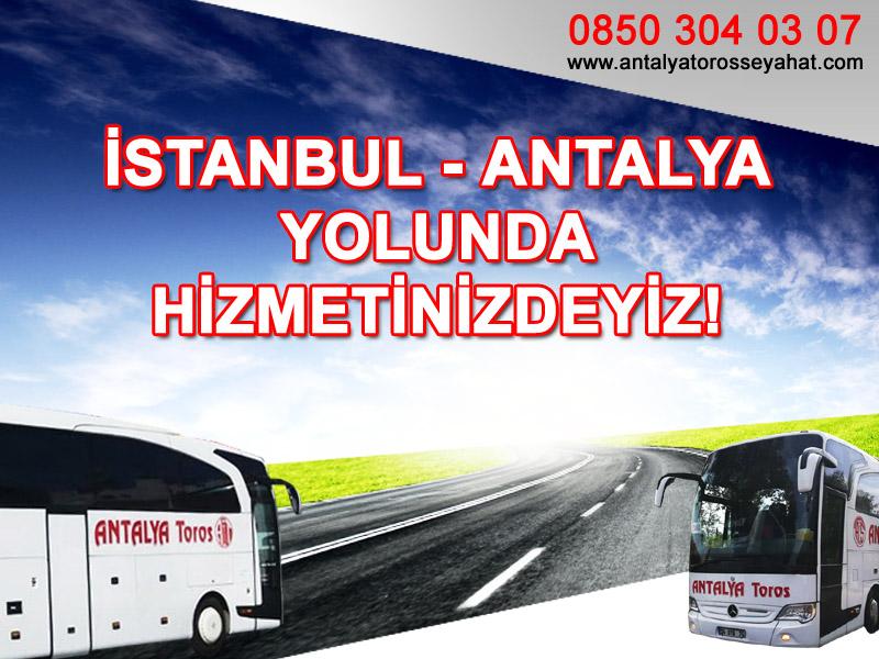 antalya toros seyahat, istanbul -antalya otobüs bileti