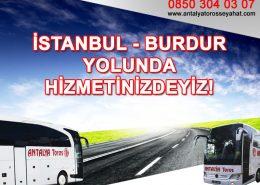 antalya toros seyahat, istanbul - burdur otobüs bileti